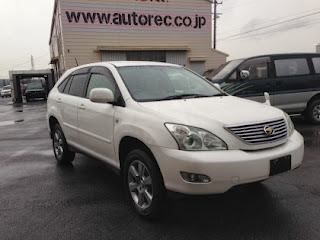 2005 Toyota Harrier sold to Tanzania