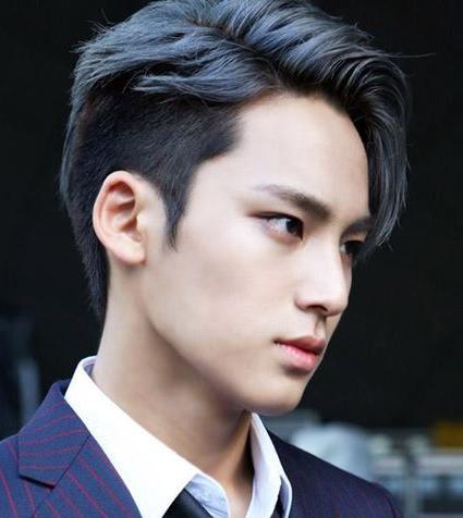model rambut korea pria gaya terkini