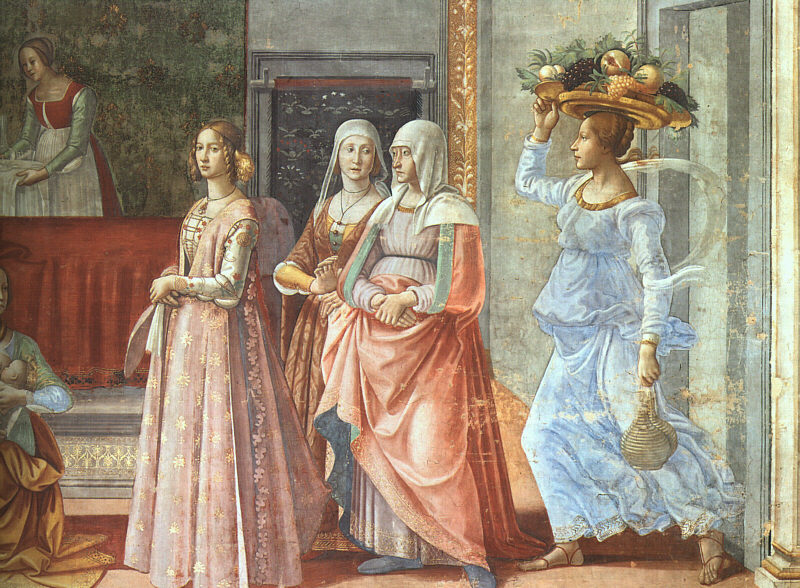 The costumes that we are making date from 1480s through to the 1510s. I have long admired the Ghirlandiao paintings that show a variety of these gowns.  sc 1 st  Aylwen Gardiner-Garden : italian renaissance theatre costumes  - Germanpascual.Com