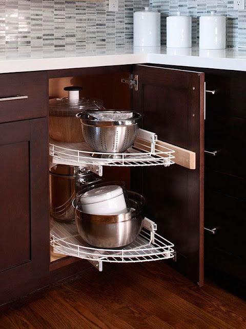 Tips Untuk Memfungsikan Sudut Dapur