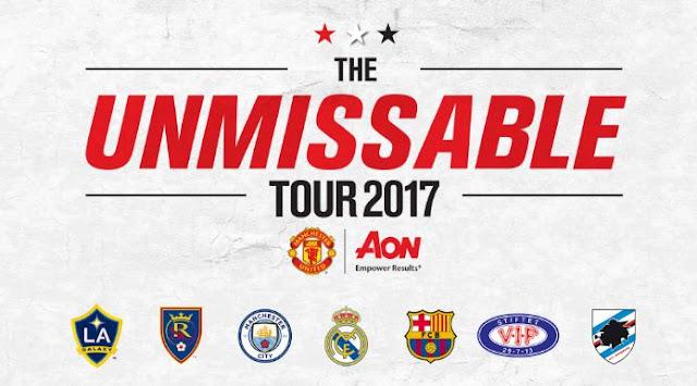 Jadwal Pertandingan Manchester United di Tur Pramusim 2017 Amerika Serikat