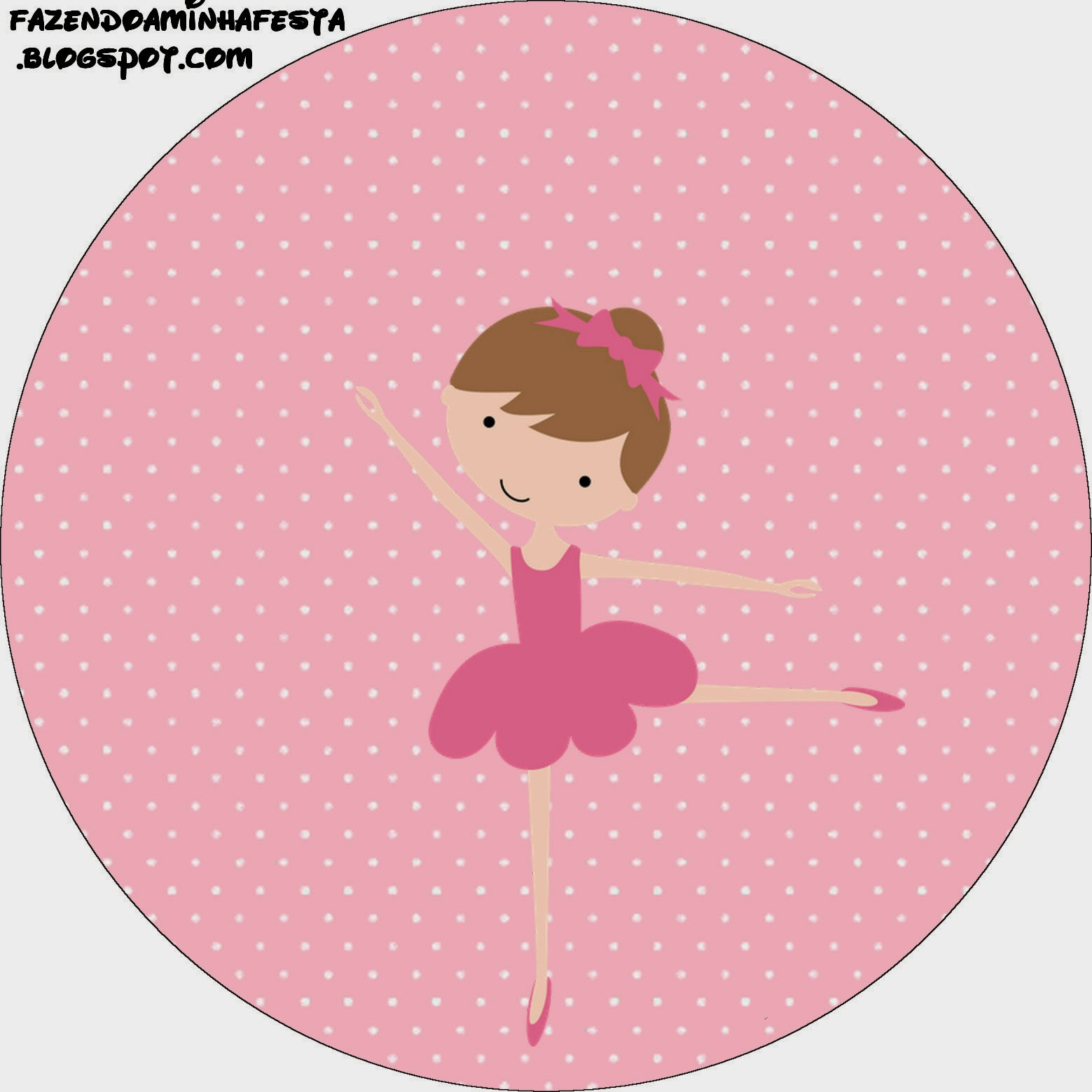 Pretty Ballerina Free Printable Candy Bar Labels. | Oh My ...