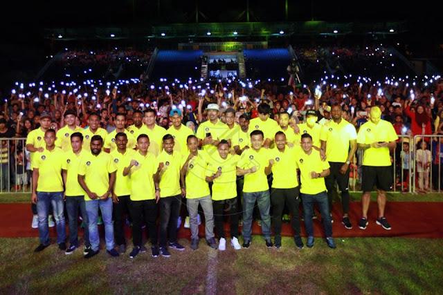 Pemain Pahang FA 2017 Skuad Tok Gajah