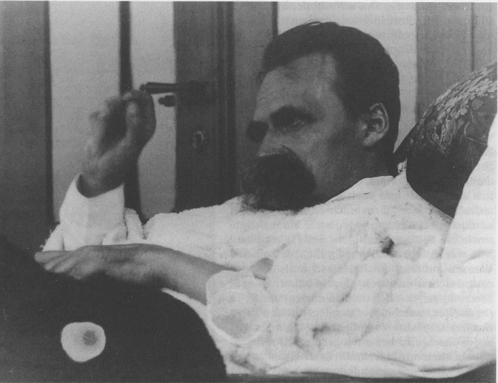 Nietzsche com insanidade mental
