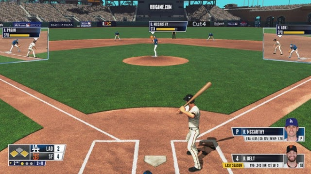RBI Baseball 15 Free PC Games Gameplay