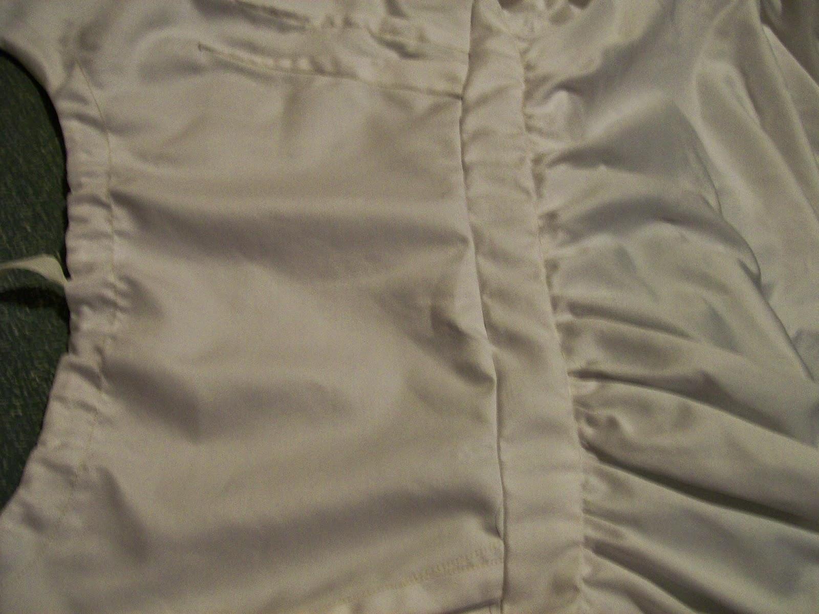 Bodiced petticoat waistband.
