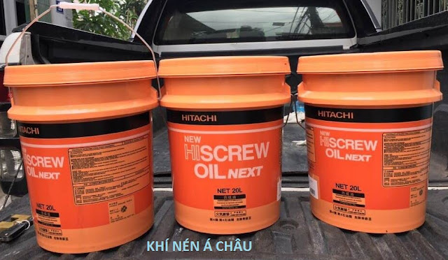 dau may nen khi HITACHI NEW HISCREW OIL NEXT