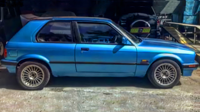 BMW E30 Custom Hatchback modified 2
