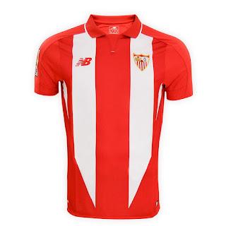 90c75bb2cc75d Camisetas New Balance del Sevilla FC 2015-2016