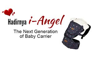 i-angel gendongan nyaman dan aman untuk bayi
