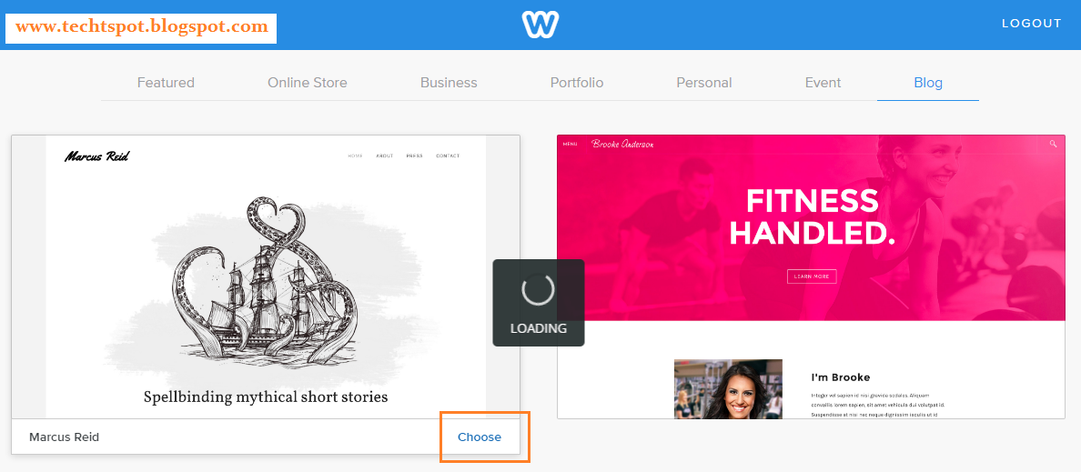 Create Free Website With Weebly