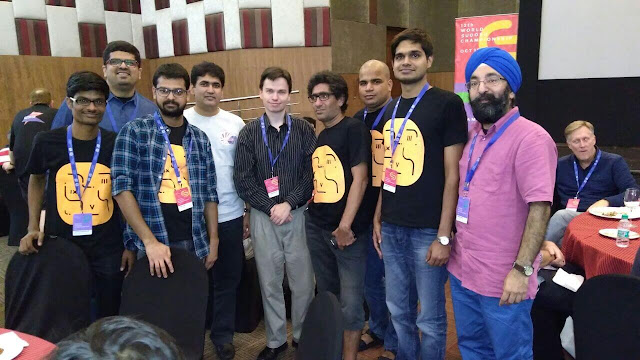 Team India with Thomas Snyder