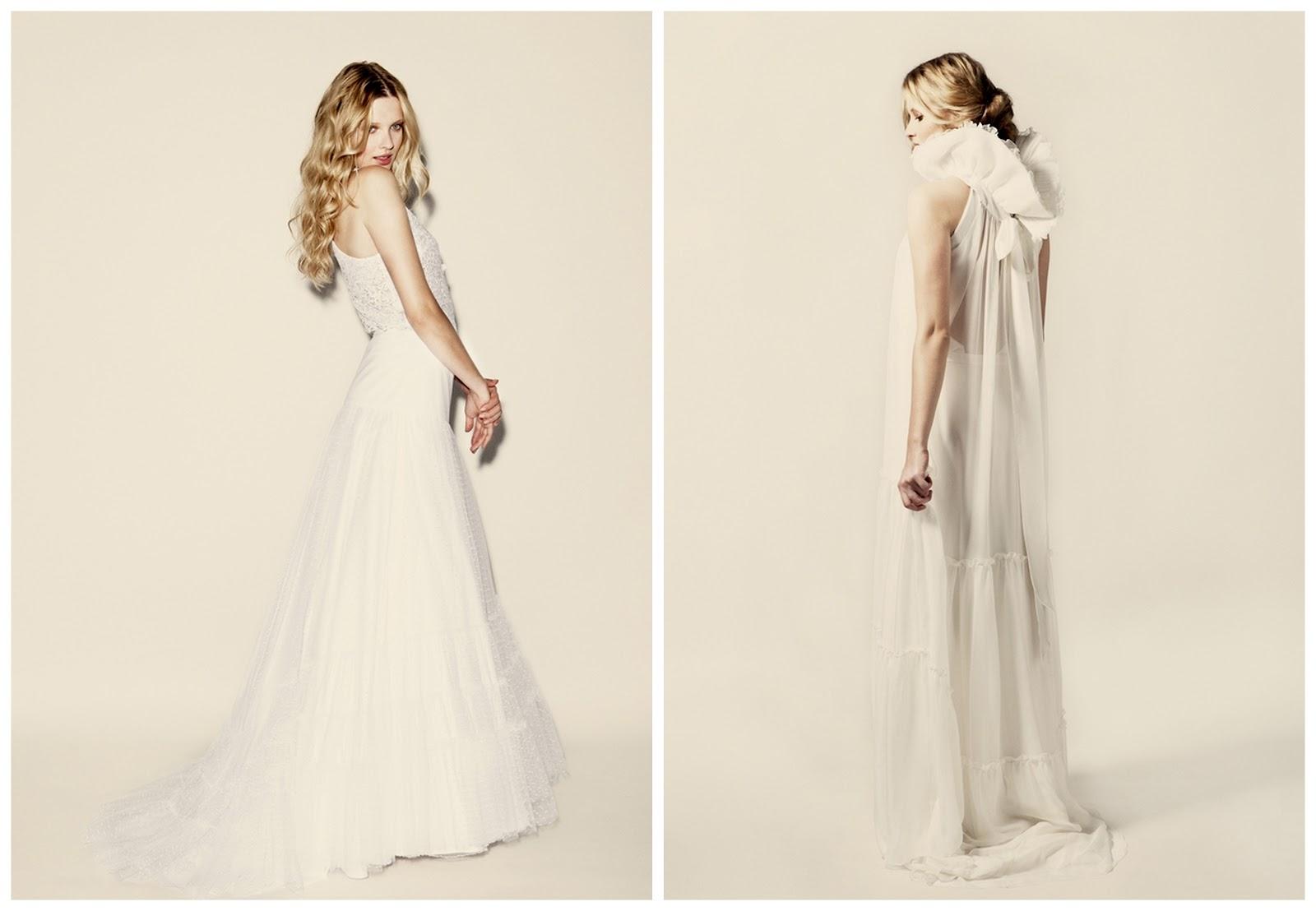 elegant french wedding dresses by delphine manivet