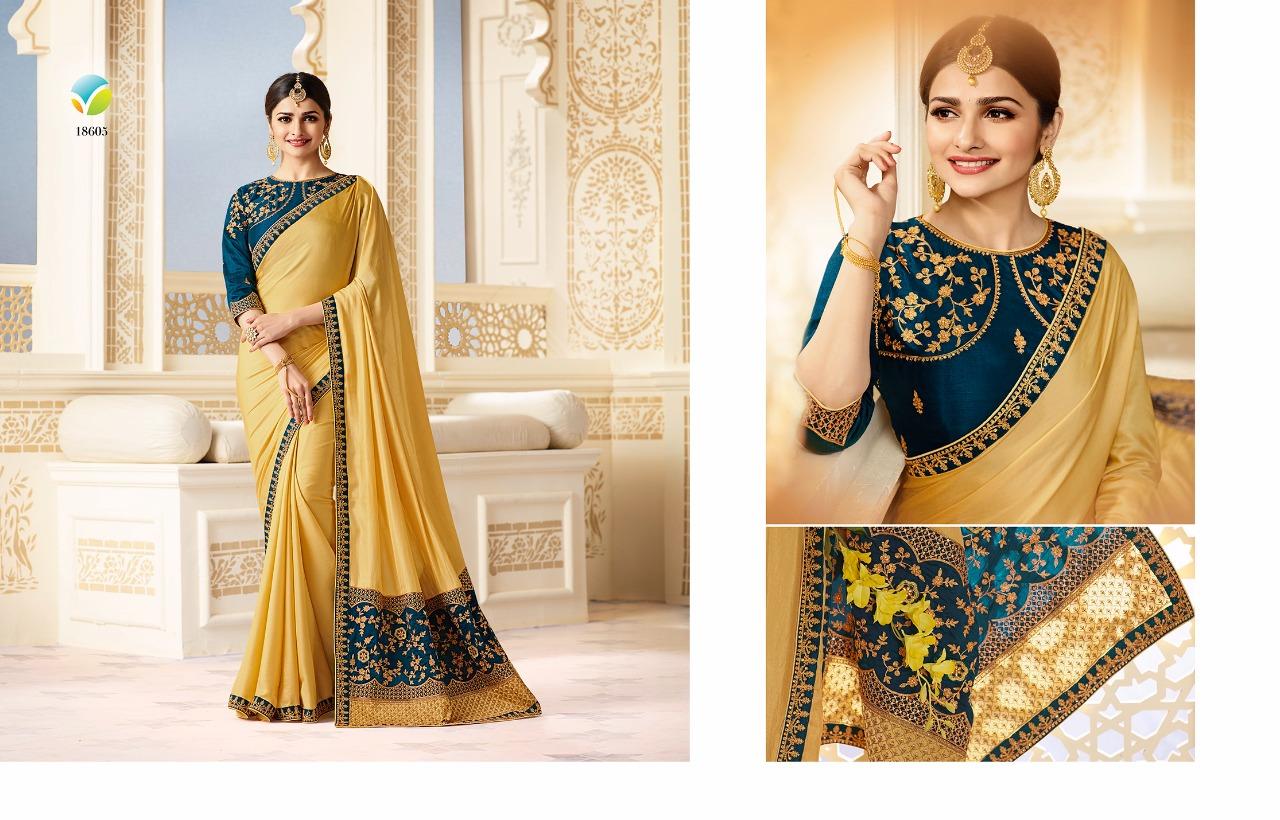 Vinay fashion starwalk sparkle hit list sarees collection