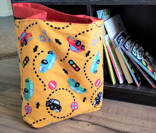 Summer Reading Reversible Book Bag Pattern