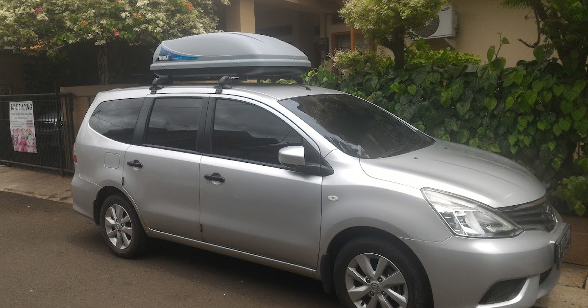 Andarupratomo Review Sportrack Cross Bar Jepit Body And Thule Roof Box All New Grand Livina