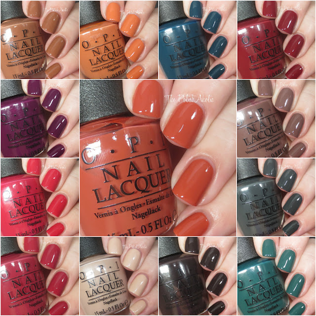 Opi Fall 2016 Washington D C Collection Swatches Amp Review