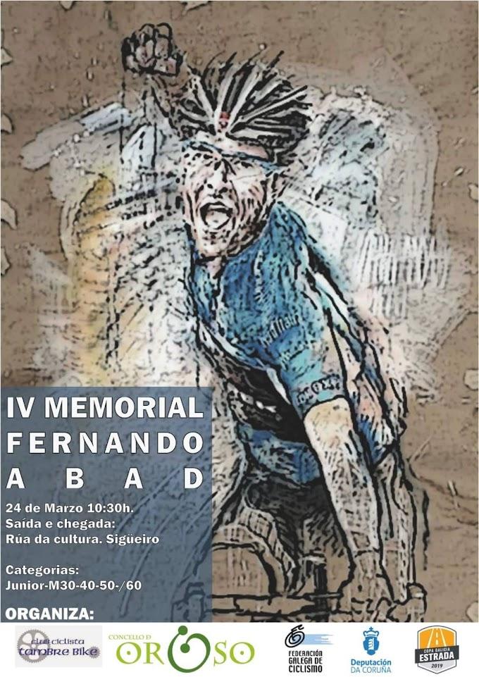 IV MEMORIAL FERNANDO ABAD - 24 de marzo de 2019