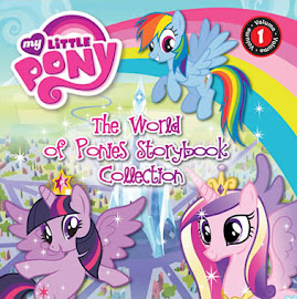 MLP The World of Ponies Storybook Collection vol. 1 Book Media