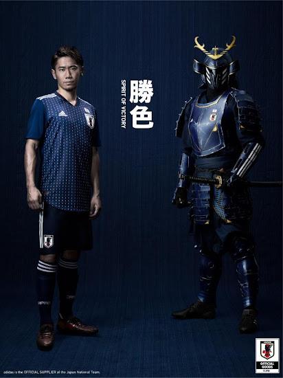 Seragam Piala Dunia Jepang