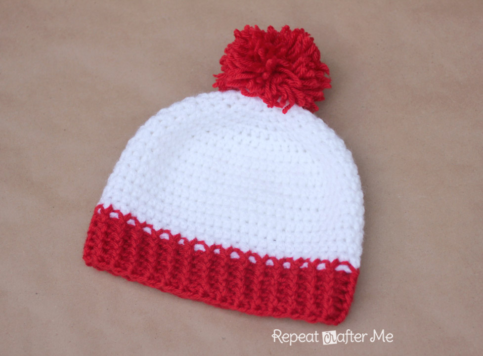 Free Crochet Beanie Pattern For 2 Year Old