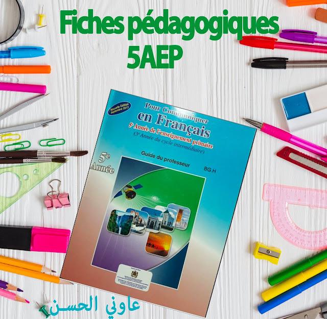 Fiches pédagogiques : Pour communiquer en français 5aep semestre 2 septembre 2017 en word et pdf