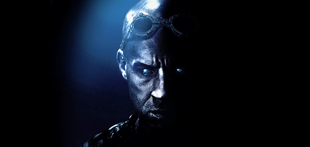 Riddick movie 2013 with Vin Diesel Teaser Poster