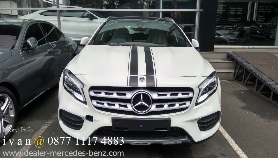 New gla 200 amg edition 50 indonesia 2017 ready stock for Mercedes benz service b coupons 2017