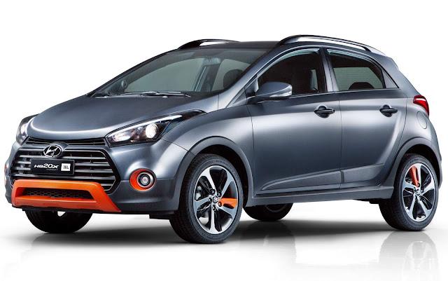 Hyundai HB20X JBL Concept