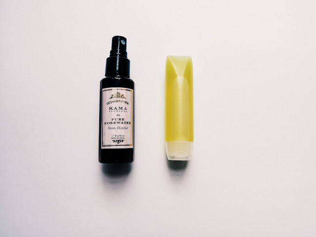 olej jojoba + woda różana