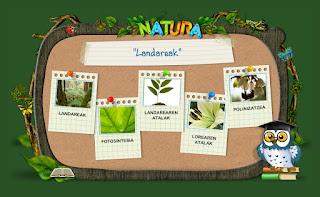 http://www.lapecera.eu/natura/LANDAREAK/index.html