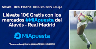 william hill promocion Alaves vs Real Madrid 6 octubre