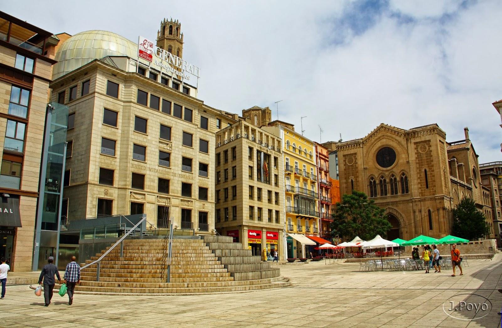 Plaza de San Juan de Lleida