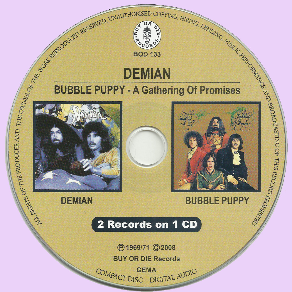 rockasteria demian bubble puppy demian a gathering of