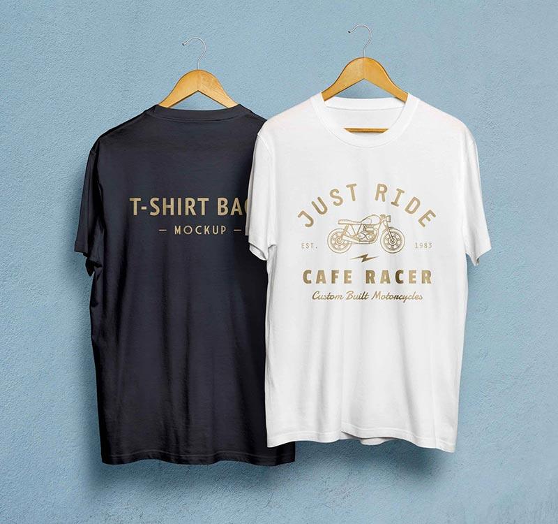 Hanger T-Shirts Mockup PSD