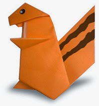 How to Make an Easy Origami Squirrel | 213x198