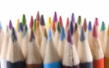 Wallpaper: Colored Pencils