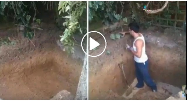 """HEBOOHH,!!! Pria Ini Selalu """"Menggali Tanah"""" di Halaman Rumahnya Setiap Hari, Tapi Setahun Kemudian… sangat mengejutkan apa yang terjadi??? [mohon di bagikan]"""