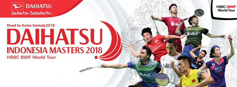 Badminton Indonesia Masters 2018