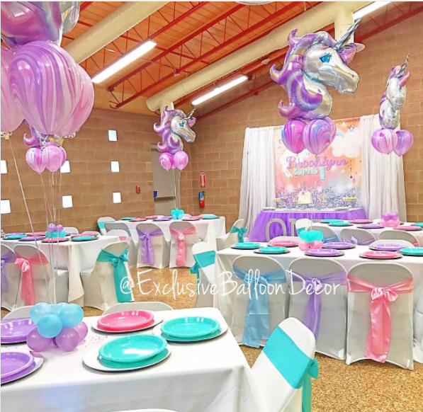 15 lindos centros de mesa de unicornio for Diseno de mesa de unicornio