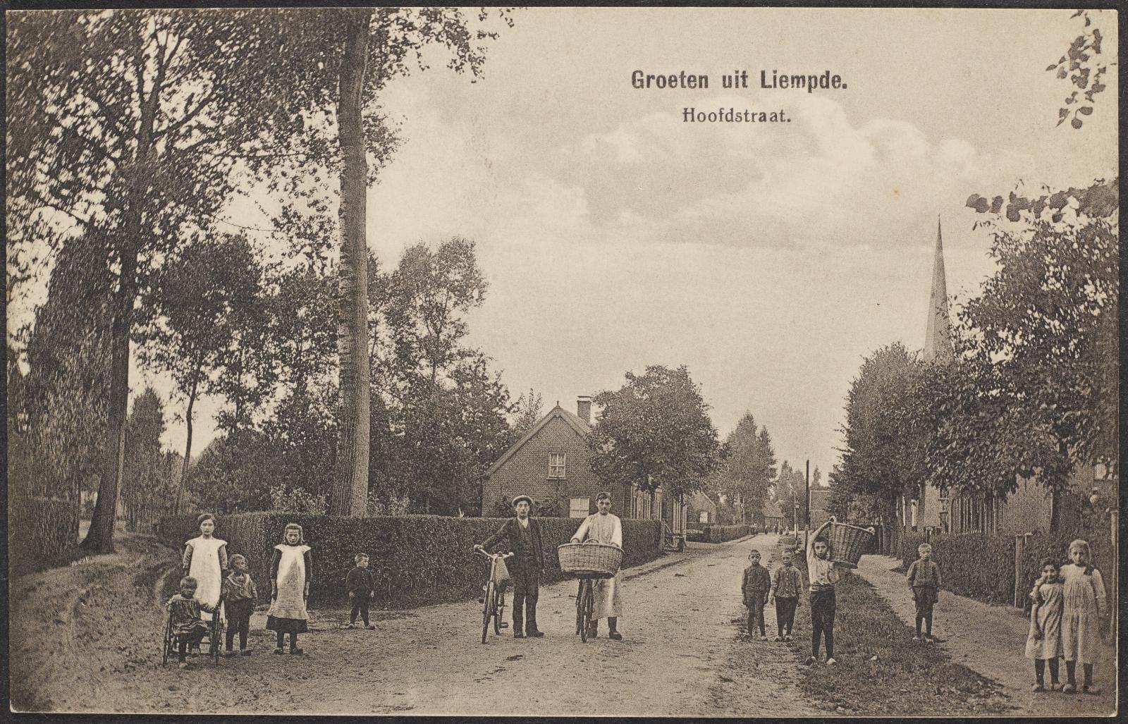 Groeten uit Liempde. Hoofdstraat