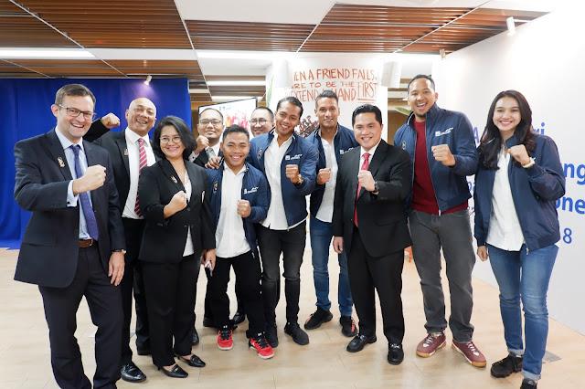 selamat berjuang atlet tim indonesia