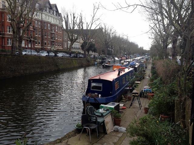 pasear por Little Venice en Londres