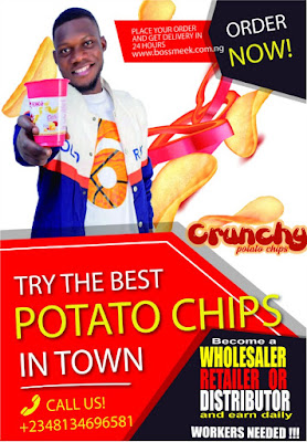 Crunchy Potato Chips