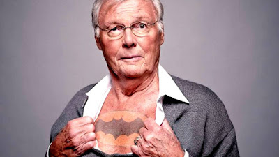 Fallece Adam West, el Batman del '66.