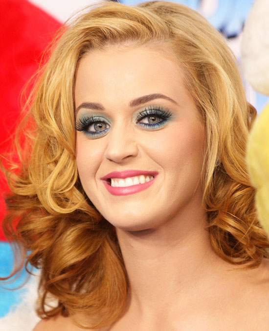 Katy Perry Blonde Hairstyles Fashion Week Katy Perry