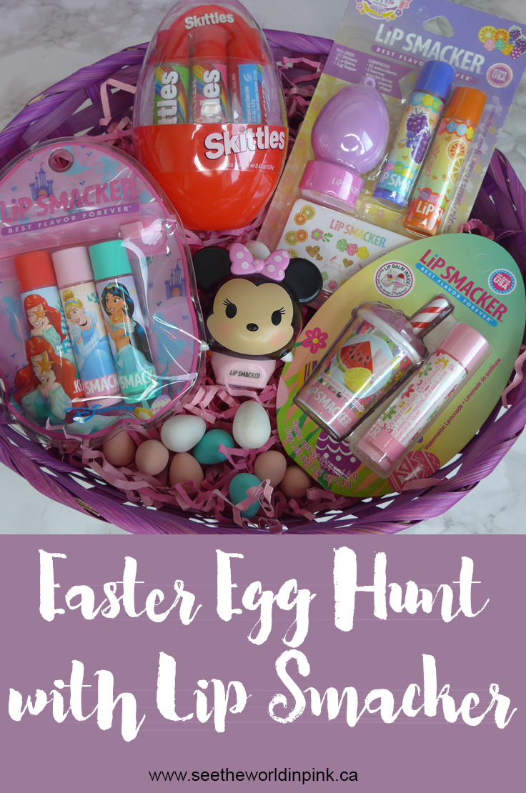 Springtime Treats and Easter Egg Hunting with Lip Smacker