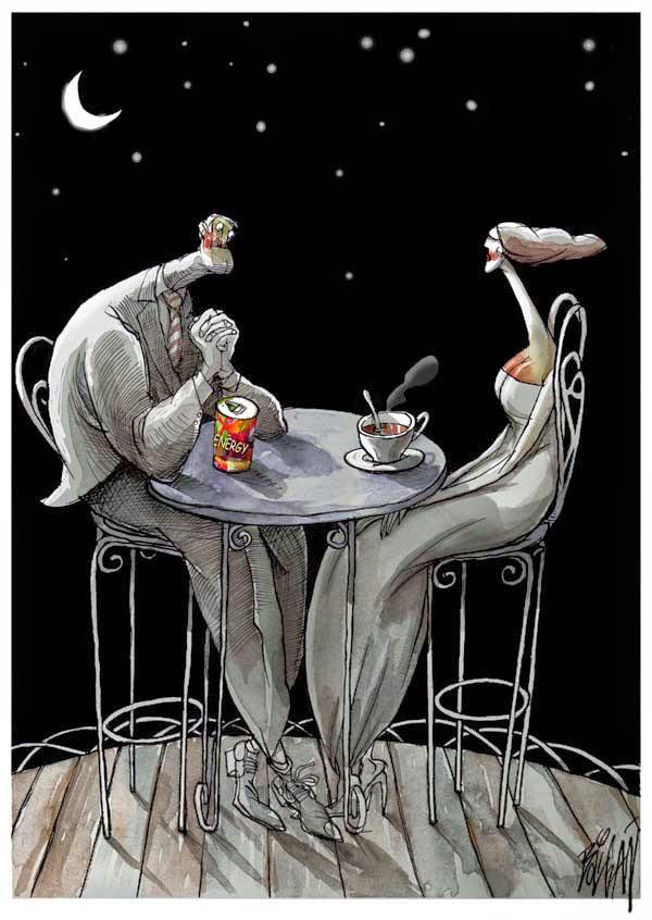 Angel Boligan - Sátira Surrealista