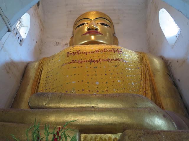 Buda en el interior de Manuha Paya