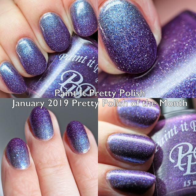 Paint It Pretty Polish January 2019 Pretty Polish of the Month